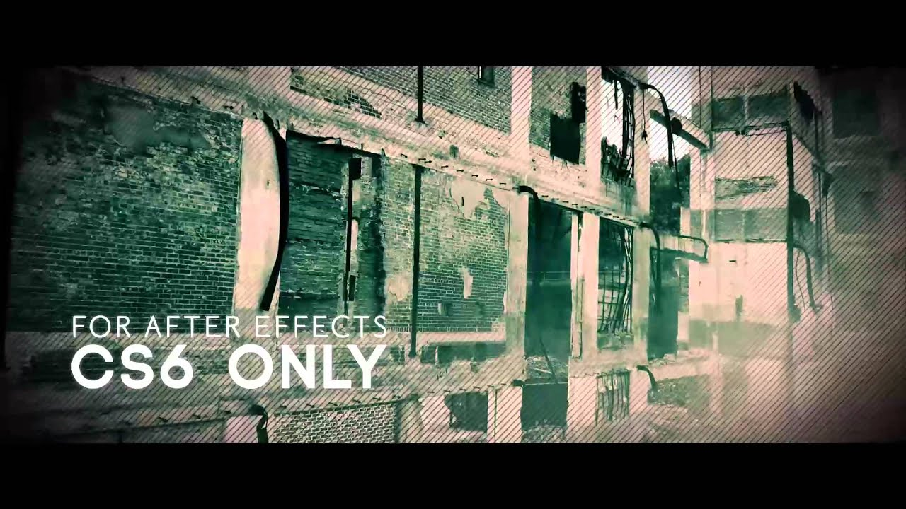 A Free Adobe After Effects Template (The Ruins) - YouTube