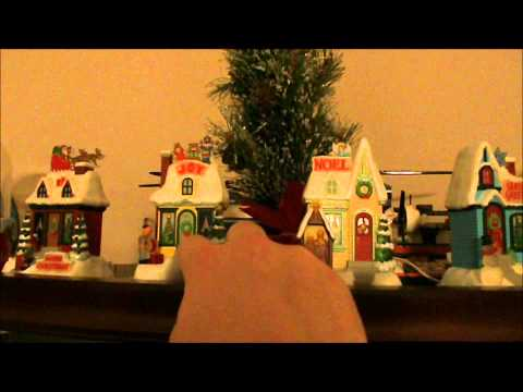 Hallmark Light Show Musical Houses Christmas Decoration