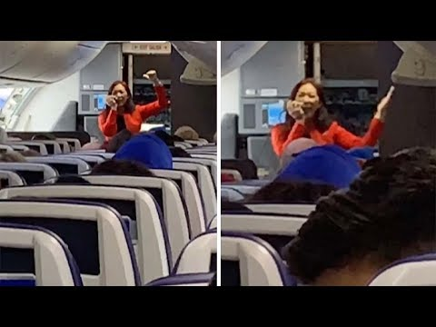 Must See Popular Videos | What's Good - Rapping Flight Attendant Crushes It