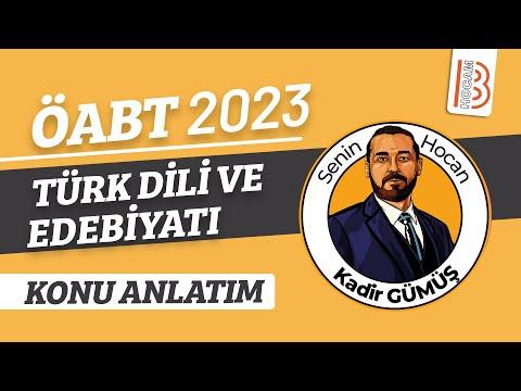 58) Yeni Türk Edebiyatı - Tanzimat Dönemi - I - Kadir Gümüş (2018)