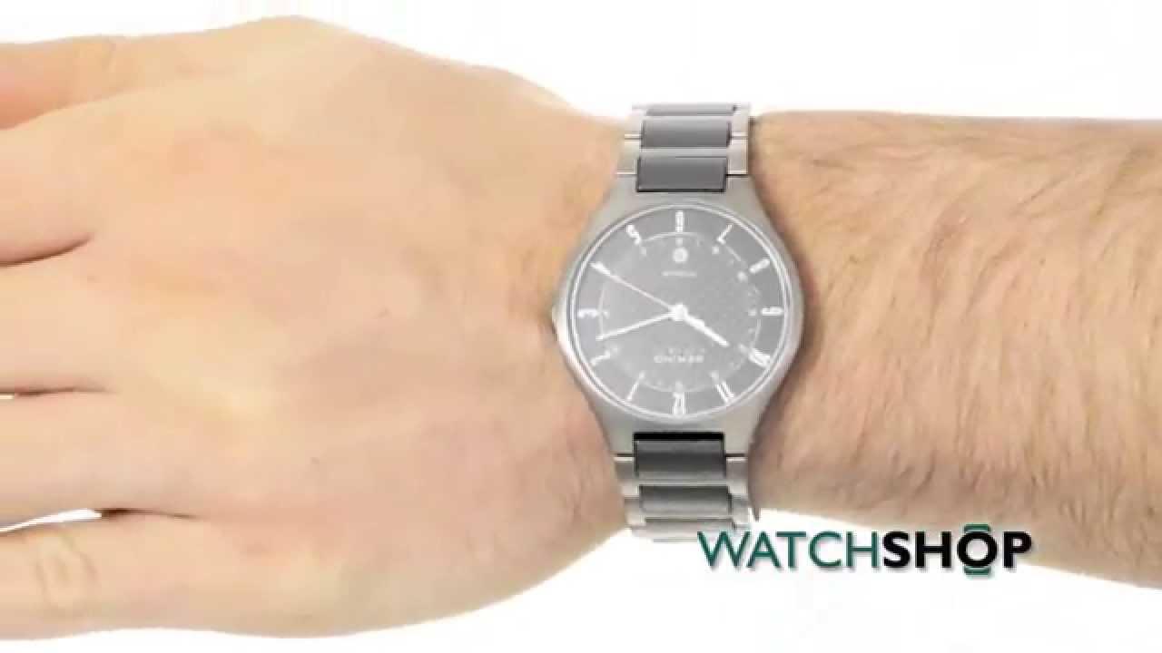 Bering Men's Titanium Ceramic Watch (11739-702)