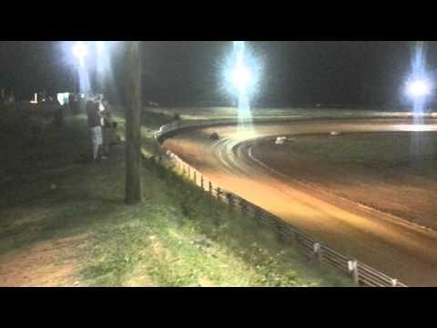 Dwarfcar at cleveland county motor speedway