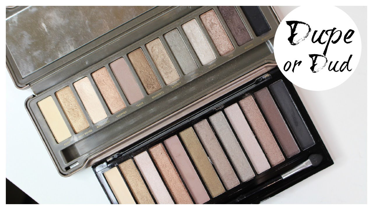 Dupe Or Dud Urban Decay Naked2 Makeup Revolution Icon2 Palette