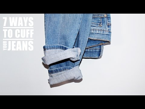 7 WAYS TO CUFF YOUR JEANS. http://bit.ly/2zwnQ1x