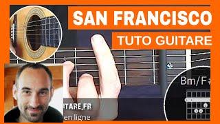 "Maxime Le Forestier ""San Francisco"" Tuto Guitare"