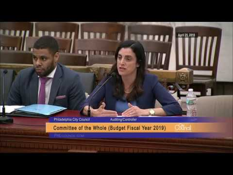 FY2019 Budget Hearing - Auditing Department/Controller - 4-25-2018