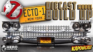 GHOSTBUSTERS ECTO-1 DIECAST BUILD | EAGLEMOSS KIT 3