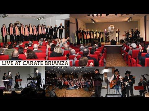 InControCanto & JQuartet LIVE AT CARATE BRIANZA - Associazione Colombo presso Auditorium BCC