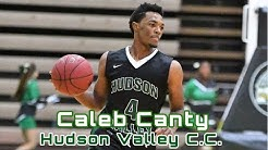 Caleb Canty #4 Hudson Valley C.C. Basketball (Sophomore Mix)