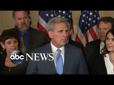 Republicans Reeling After Kevin McCarthy Drops Out