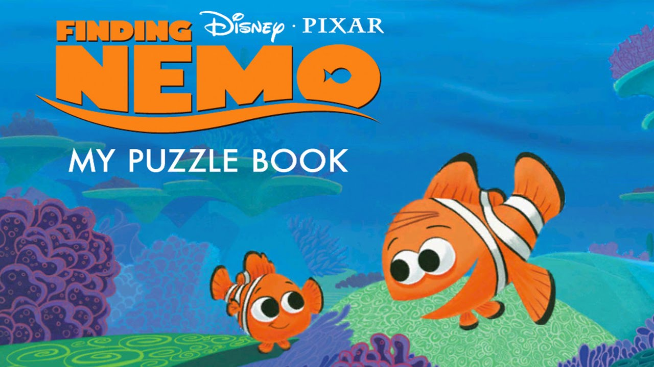 finding nemo my puzzle book disney best app for kids youtube