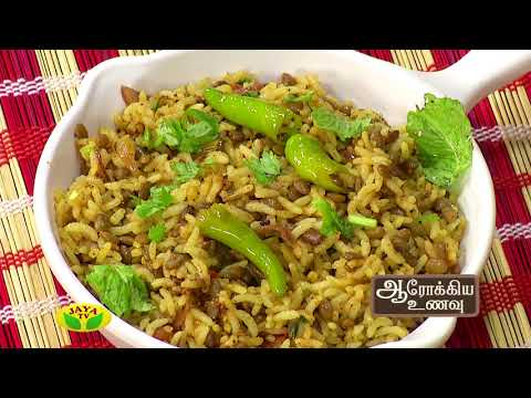 Aarokiya Unavu Episode 152  Jaya TV Show Online