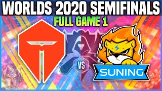 TES vs SN Game 1 Worlds 2020 SEMIFINALS - TOP ESPORTS vs SUNING Game 1 Worlds 2020 SEMIFINALS