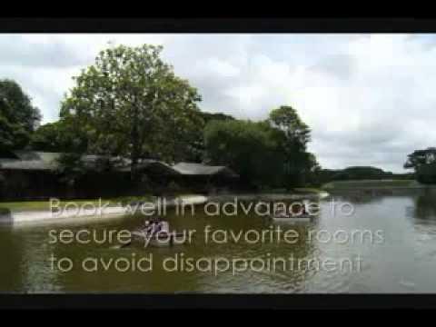 Manila tourists visiting Angeles City Pampanga prefer Lake House rooms on the lake of Clark