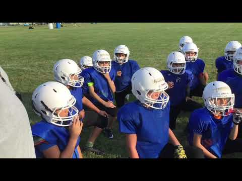 Des Plaines JR Warriors Football - Practice