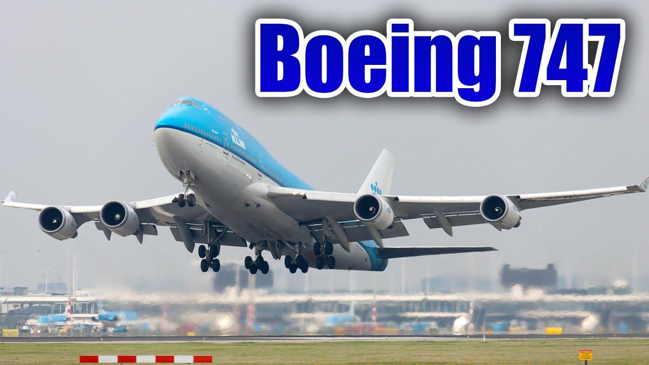Espectaculares Boeing 747 aterrizando y despegando - YouTube