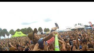 Warped Tour 2014 Vinoy Park St. Pete. Green Pole Kid. Mosh Cam