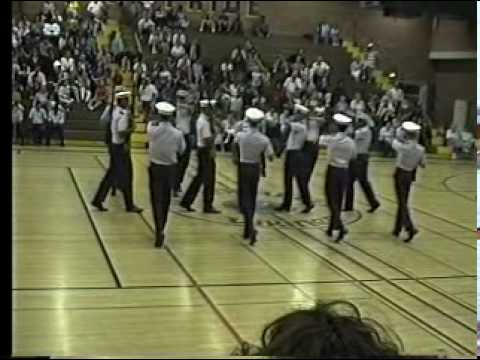 Moreno Valley High School Weapons Drill Team 1993