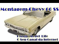 Montagem Chevy 66 SS 396 Revell 1:25 - Plastimodelismo