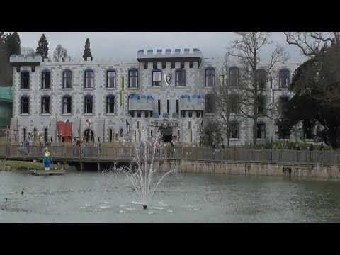 Legoland Windsor castle hotel December 2017