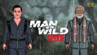 Man Vs Wild Teaser Spoof | Narendra Modi & Bear Grylls | Shudh Desi Endings