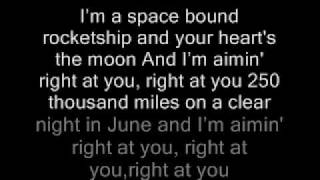 Repeat youtube video Eminem - Space Bound Lyrics