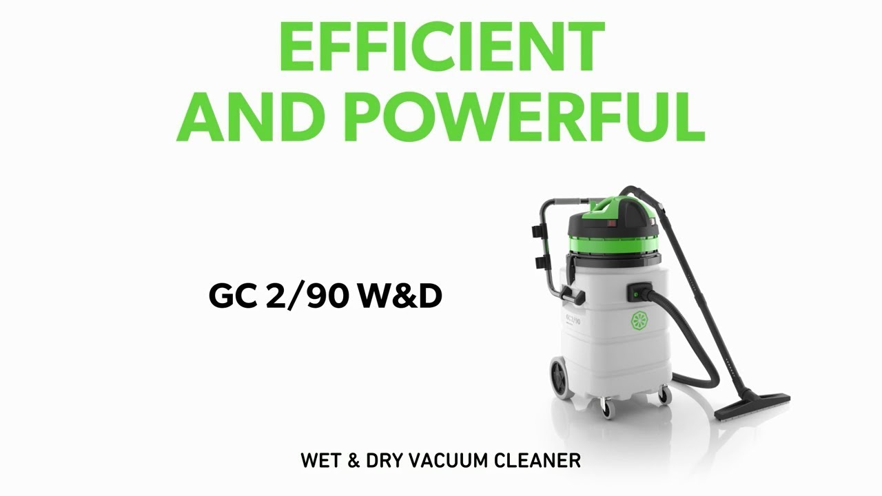 GC 2/90 Wet&Dry: efficient and powerful