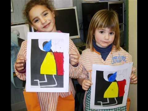 Activitats per treballar Joan Miró P4