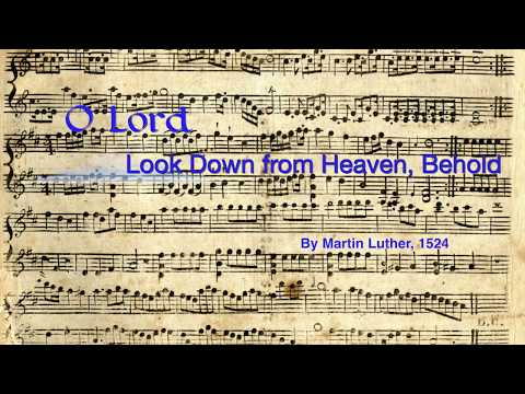 What are the Three Reformation Hymns of Martin Luther