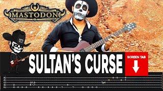 【MASTODON】[ Sultan's Curse ] cover by Masuka | LESSON | GUITAR TAB
