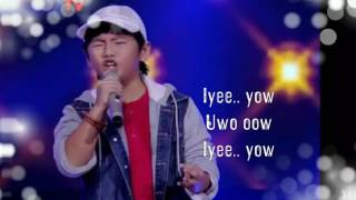 Shem - Preman (Ikang Fawzy) Blind Audition The Voice Kids Indonesia