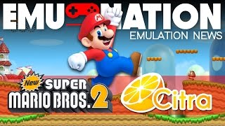EMU-NATION: New Super Mario Bros. 2 3DS Emulated 4K 60FPS