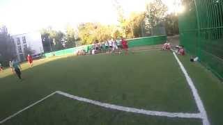 Футбол от первого лица (тест GoPro)