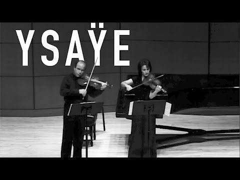 Sonata for Two Violins - E. Ysaÿe