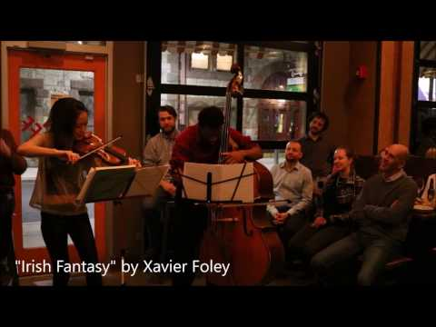 Xavier Foley - duo for violin & bass (Irish)