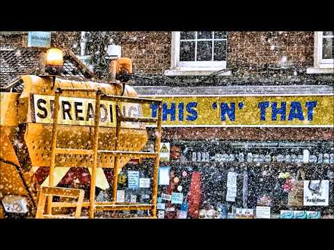 Bridport, Dorset. UK - Snow - 1st March 2018