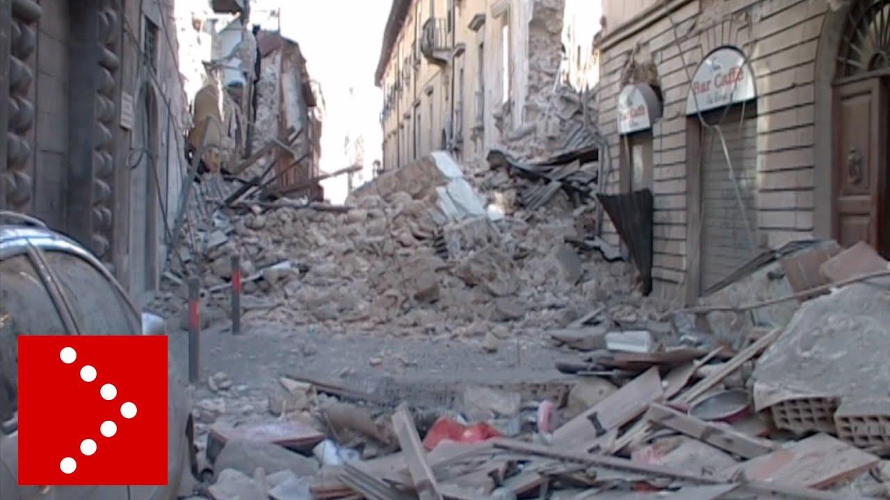 Землетрясение в Л'Акуила