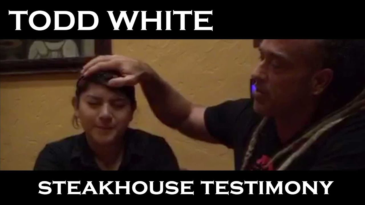 Todd White - Steakhouse Testimony