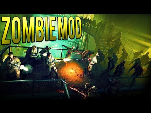 ZOMBIE EMPIRE! UNLIMITED ZOMBIES! - LIVING DEAD MOD - Company of Heroes 2 Mod