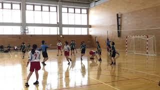 ハンドボール女子!20181125 札幌月寒高校vs札幌西高校 新人戦決勝
