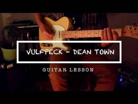 How To Play: VULFPECK / Dean Town on Guitar