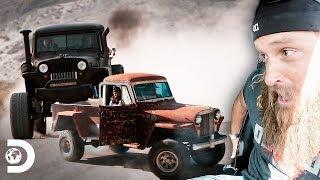 Estupenda transformación de camioneta Willys del 48 | Diesel Dave | Discovery Latinoamérica