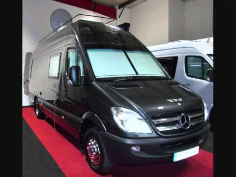 Luxury Mercedes Sprinter 519 Motorhome Racevan Sporthome Campervan Panel Van Conversion