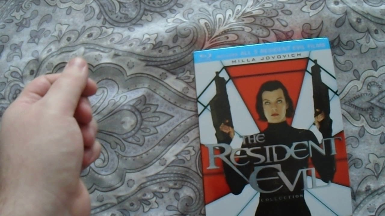 Download The Resident Evil Collection (Blu-Ray) Unboxing