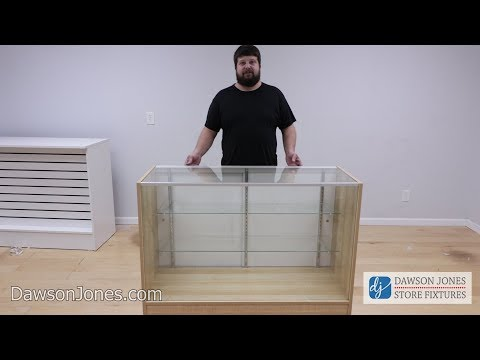 Economy Display Showcase Assembly Tutorial   How   To