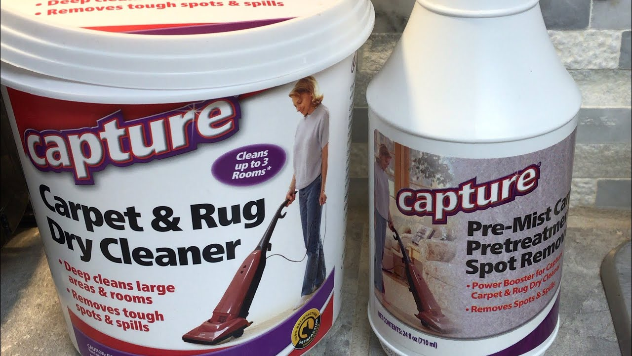 Capture Carpet Cleaner Product Review