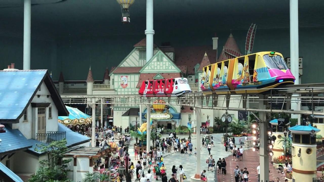 Inside Lotte World Adventure The World S Largest Indoor Theme Park Seoul South Korea