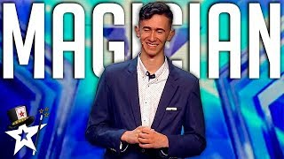Nervous Magician WOWS Judges on Spain's Got Talent | Magicians Got Talent