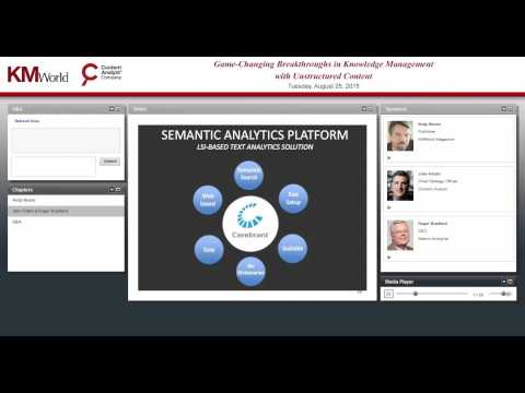 Webinar: Game Changing Breakthroughs in Knowledge Management for Unstructured Content