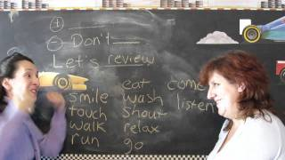 Lesson 11 - Do and Don't - Learn English with Jennifer